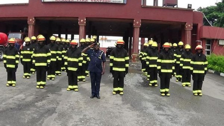 Nigeria Federal Fire Service Recruitment. Photo via Google