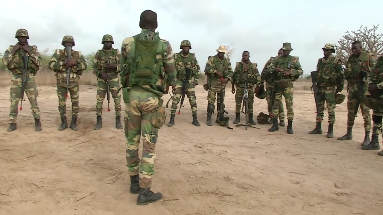 Nigerian Army Recruitment_Men of the Nigerian Army Train in this photo via Google