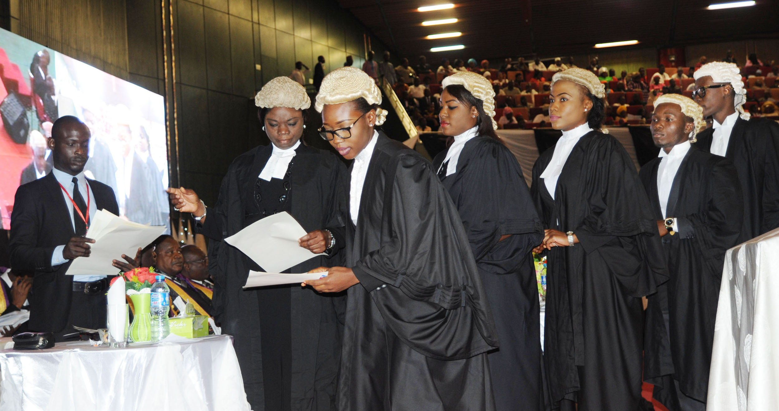 Top 10 Best Law School In Nigeria: Call To The Bar Ceremony In Abuja. Photo via Google